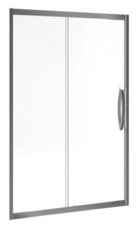 Inox 120 KAAX.1205.1200.LP 120Душевые ограждения<br>Раздвижная дверь в нишу Excellent Inox 120 KAAX.1205.1200.LP. Высота 1950 мм. Ширина двери 500 мм. Стекло закаленное прозрачное толщиной 6 мм. Профиль алюминиевый, цвет хром. Водоотталкивающее покрытие EasyClean.<br>