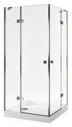 Light 90х90 KAEX.DY-DX692.90.CRLI 90x90Душевые ограждения<br>Душевой уголок Excellent Light 90х90 KAEX.DY-DX692.90.CRLI квадратный с распашными дверями и системой хромотерапии. Высота 2000 мм. Закаленное прозрачное стекло толщиной 6 мм. Профиль алюминиевый, цвет хром. Водоотталкивающее покрытие EasyClean.<br>