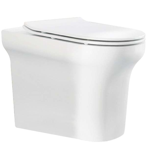 Vella P trap BB829CB без сиденьяУнитазы<br> Унитаз BelBagno Vella P trap BB829CP приставной подойдет для ванной комнаты  в современном стиле, отличительной чертой которой является комфорт, лёгкость и простота.<br> Горизонтальный выпуск P trap.<br>Слив по всему периметру чаши.<br>Стойкость цвета на долгие годы.<br>Возможна комплектация следующими артикулами сидений BB2019SC, BB2031SC.<br>Гладкая поверхность.<br> В комплекте поставки чаша унитаза.<br>