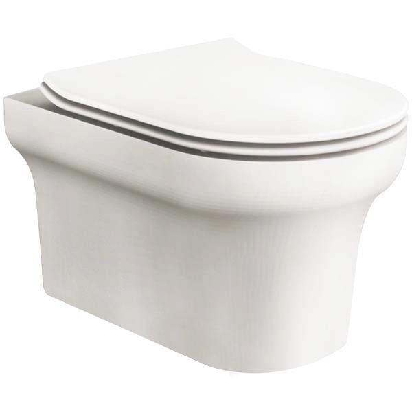 Vella BB829CH подвесной без сиденьяУнитазы<br> Унитаз BelBagno Vella BB829CH подвесной с креплением подойдет для ванной комнаты  в современном стиле, отличительной чертой которой является комфорт, лёгкость и простота.<br>Слив по всему периметру чаши унитаза.<br>Стойкость цвета на долгие годы.<br>Гладкая поверхность.<br> В комплекте поставки чаша унитаза с креплением.<br>