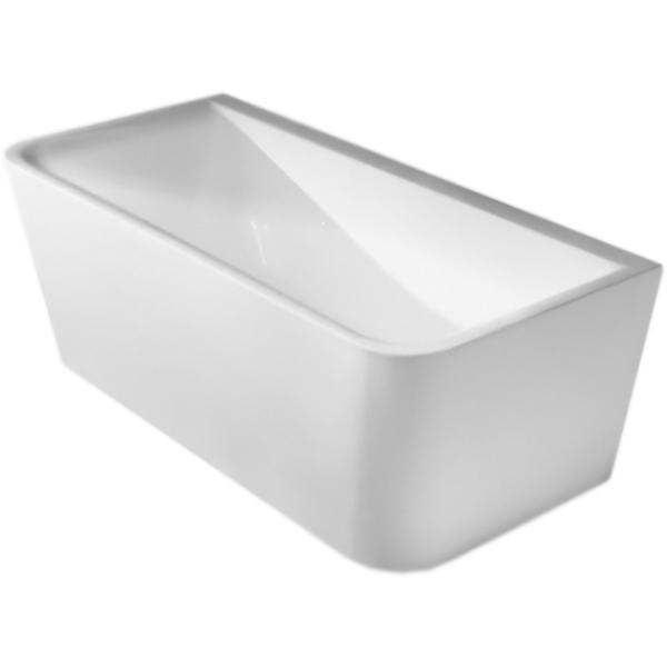 BB52-1600 160x80 без гидромассажаВанны<br>Акриловая ванна BelBagno BB52-1600 160x80 отдельностоящая, прямоугольная, с широкими бортиками, с удобным наклоном для спины.<br>Материал: высококачественный листовой акрил.<br>Прочность в сочетании с малым весом.<br>Эффективное звукопоглощение.<br>Гладкая, не скользкая и теплая на ощупь поверхность.<br>Акрил быстро нагревается и долго сохраняет тепло.<br>Неприхотливость в уходе.<br>Расположение слива: в ногах.<br>Диаметр сливного отверстия: 5,5 см.<br><br>В комплекте поставки:<br>чаша ванны;<br>слив-перелив цвета хром.<br><br>