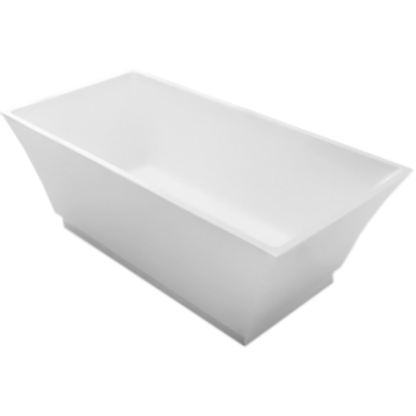 BB54 170x80 без гидромассажаВанны<br>Акриловая ванна BelBagno BB54-1700 170x80 отдельностоящая, прямоугольная, с удобным наклоном для спины с двух сторон.<br>Материал: высококачественный листовой акрил.<br>Прочность в сочетании с малым весом.<br>Эффективное звукопоглощение.<br>Гладкая, не скользкая и теплая на ощупь поверхность.<br>Акрил быстро нагревается и долго сохраняет тепло.<br>Неприхотливость в уходе.<br>Расположение слива: в центре.<br>Диаметр сливного отверстия: 5,5 см.<br><br>В комплекте поставки:<br>чаша ванны;<br>слив-перелив цвета хром.<br><br>