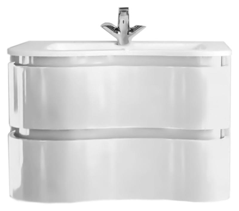 Vitaro 80 BB800SW-DAC/BL bianco lucidoМебель для ванной<br>Тумба под раковину BelBagno Vitaro 80 белая глянцевая, с двумя выдвижными ящиками, со скрытыми ручками в плоскости фасада, отражает современные тенденции в дизайне. Сочетание функциональности и комфорта от BelBagno стало возможным благодаря применению передовых технологий производства. Ящики тумбы оснащены доводчиками с функцией плавного закрывания. Цена указана за тумбу. Раковина и все остальное приобретается дополнительно.<br>