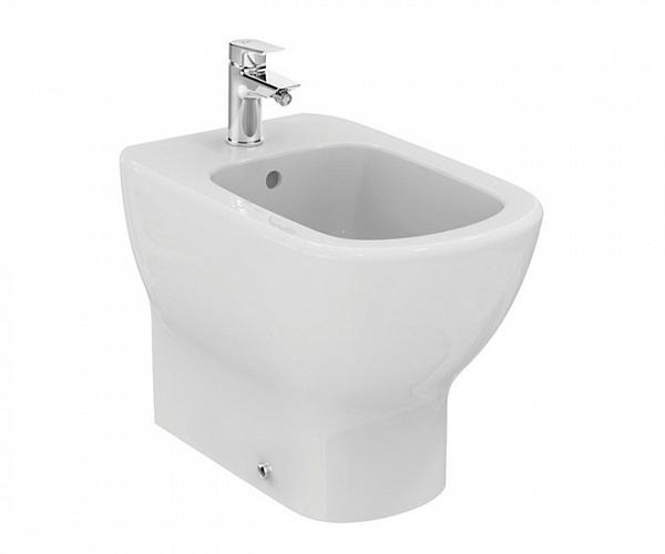 Биде Ideal Standard Tesi T354001 Белое cмеситель для раковиныideal standard tesi однорычажный