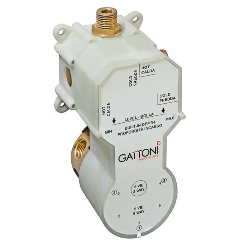 цена на Универсальная монтажная коробка Gattoni Gbox SC0500000 Белый