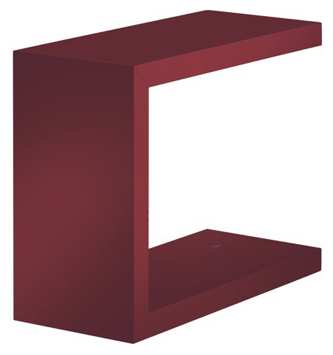 E2 56UF142 БордоАксессуары для ванной<br>Полочка Kludi E2 56UF142 мебельная. Материал МДФ. Цвет бордо. Настенный монтаж. С крепежным материалом возможны разные варианты комбинирования.<br>