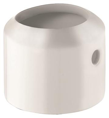 E2 7472043-40 БелаяАксессуары для ванной<br>Декоративная вставка Kludi E2 7472043-40 для смесителя. Материал сантехническая латунь. Цвет белый.<br>
