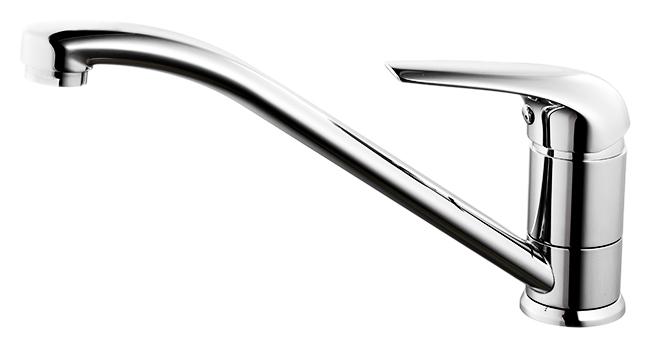 Baffin BA56002C MI хромСмесители<br>Смеситель для кухни Milardo Baffin BA56002C MI из латуни высокого качества ГОСТ 17711-93 и с многослойным, стойким к истиранию никель-хромовым покрытием корпуса. Поворотный излив, 360 градусов. Съемный пластиковый аэратор. Долговечный керамический картридж, диаметром 35 мм. Смесители коллекции Baffin отличает резкая, динамичная, стремительная форма, отражающая опасный характер наполненного айсбергами моря Баффина, в честь которого она была названа. При этом за лаконичностью и видимой простотой линий скрывается высокое качество, обеспечивающее надежность и долгий срок службы. Цена указана за смеситель, гибкую подводку, проставку для монтажа и комплект крепления. Все остальное приобретается дополнительно.<br>