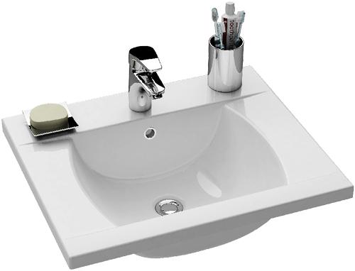 Classic 600 белаяРаковины<br>Раковина Ravak Classic 600. Предназначена для маленьких ванных комнат. Отверстие под смеситель 35 мм.<br>