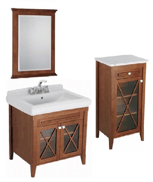 Hommage 899500R2 напольная ОрехМебель для ванной<br>Мебель для ванной комнаты Villeroy &amp; Boch Hommage 899500R2. Цвет орех/ярко-белый (star white). Ceramic plus.<br>