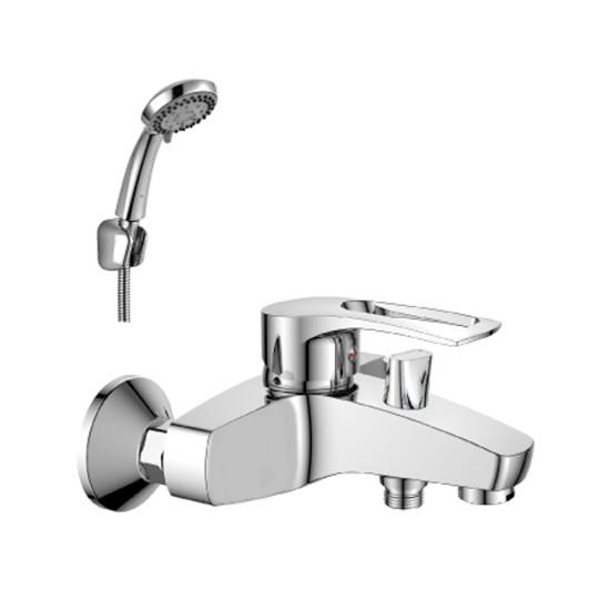 T40-31 ХромСмесители<br>Смеситель Rossinka T T40-31 для ванны с душем имеет пластиковый аэратор с функцией легкой очистки. Керамический картридж 40 мм.<br>