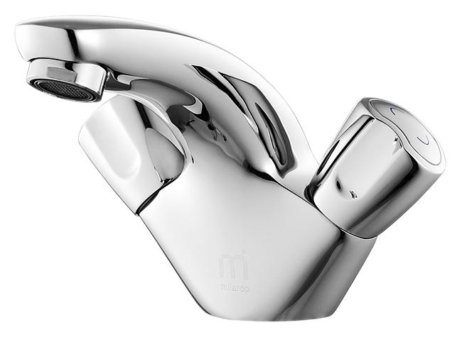 Cortes CORSB00M01 хромСмесители<br>Смеситель для раковины Milardo Cortes CORSB00M01, из латуни высокого качества ГОСТ 17711-93 и с многослойным, стойким к истиранию никель-хромовым покрытием корпуса. Съемный пластиковый аэратор обеспечивает ровную струю, мягкий и экономичный поток воды. Долговечные керамические кран-буксы с углом поворота 180 градусов. Названная в честь южноамериканского моря, коллекция Cortes выделяется необычным дизайном ручек, повторяющим его симметрично изогнутую форму. Основания смесителей также отличаются оригинальным силуэтом, в котором чувствуется влияние орнаментов, традиционных для древних ацтеков, прародителей мексиканцев, которые дали морю его имя.<br>