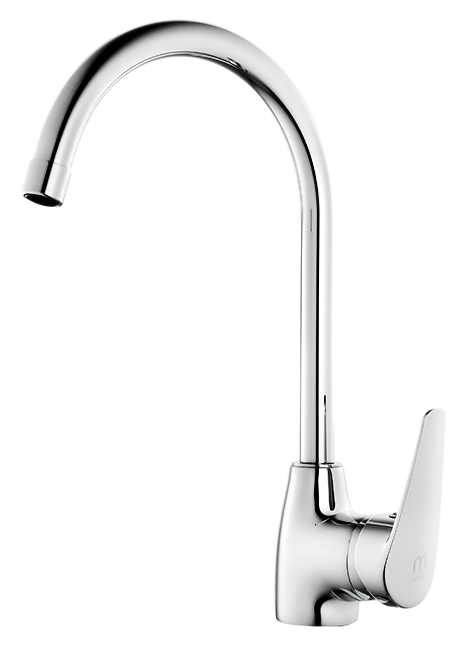 Hudson HUDSB00M05 хромСмесители<br>Смеситель для кухни Milardo Hudson HUDSB00M05, из латуни высокого качества ГОСТ 17711-93 и с многослойным, стойким к истиранию никель-хромовым покрытием корпуса. Поворотный излив. Съемный пластиковый аэратор обеспечивает ровную струю, мягкий и экономичный поток воды. Долговечный керамический картридж, диаметром 40 мм. Свое название коллекция получила в честь северного Гудзонова залива, что и определило его нордический, немного суровый облик. Строгость образа сглаживают каплевидные очертания ручек и оснований смесителей. Цена указана за смеситель, гибкую подводку, проставку для монтажа и комплект крепления. Все остальное приобретается дополнительно.<br>