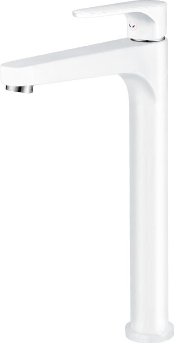 LACONICO-LC25-BLC БелыйСмесители<br>Смеситель Cezares LACONICO-LC25-BLC для накладных раковин, цвет белый.<br>