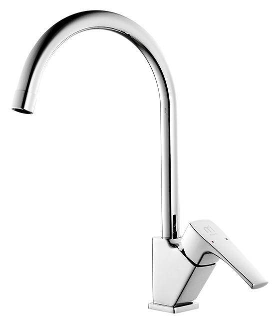 Labrador LABSB00M05 хромСмесители<br>Смеситель для кухни Milardo Labrador LABSB00M05, из латуни высокого качества ГОСТ 17711-93 и с многослойным, стойким к истиранию никель-хромовым покрытием корпуса. Поворотный излив, 360 градусов. Съемный пластиковый аэратор обеспечивает ровную струю, мягкий и экономичный поток воды. Долговечный керамический картридж, диаметром 25 мм. Смесители коллекции Labrador отражают нордический характер северных широт, где расположено море Лабрадор, давшее коллекции имя. Прямые линии, прямоугольные формы, острые грани создают сдержанный образ, подчеркивая надежность и функциональность смесителей. Цена указана за смеситель, гибкую подводку, проставку для монтажа и комплект крепления. Все остальное приобретается дополнительно.<br>