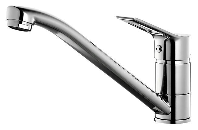 Ukon UKOSB00M05 хромСмесители<br>Смеситель для кухни Milardo Ukon UKOSB00M05, из латуни высокого качества ГОСТ 17711-93 и с многослойным, стойким к истиранию никель-хромовым покрытием корпуса. Поворотный излив, 360 градусов. Съемный пластиковый аэратор обеспечивает ровную струю, мягкий и экономичный поток воды. Долговечный керамический картридж, диаметром 35 мм.<br>