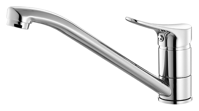 Volga VOLSB00M05 хромСмесители<br>Смеситель для кухни Milardo Volga VOLSB00M05, из латуни высокого качества ГОСТ 17711-93 и с многослойным, стойким к истиранию никель-хромовым покрытием корпуса. Поворотный излив, 360 градусов. Съемный пластиковый аэратор обеспечивает ровную струю, мягкий и экономичный поток воды. Долговечный керамический картридж, диаметром 35 мм. Цена указана за смеситель, гибкую подводку, проставку для монтажа и комплект крепления. Все остальное приобретается дополнительно.<br>