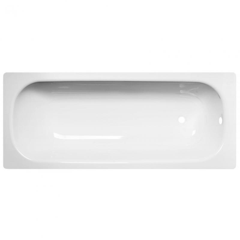 Стальная ванна ВИЗ Reimar 150 R-54901 Белая орхидея фото