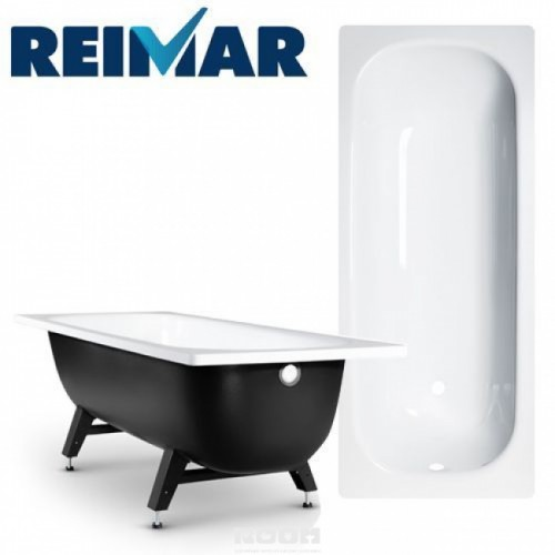 Reimar 170 R-74901 Белая орхидеяВанны<br>Стальная эмалированная ванна Reimar 170 R-74901, 170х70 см, с внешним полимерным покрытием. Опорная подставка из стали входит в комплект.<br>