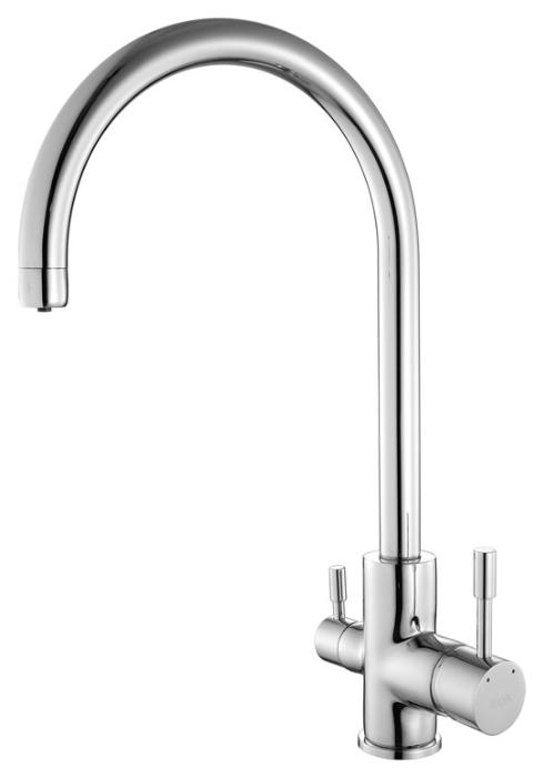 Kitchen KF20SBJi05 ХромСмесители<br>Смеситель Iddis Kitchen KF20SBJi05 для кухни с каналом для фильтрованной воды из бессвинцовой латуни<br>