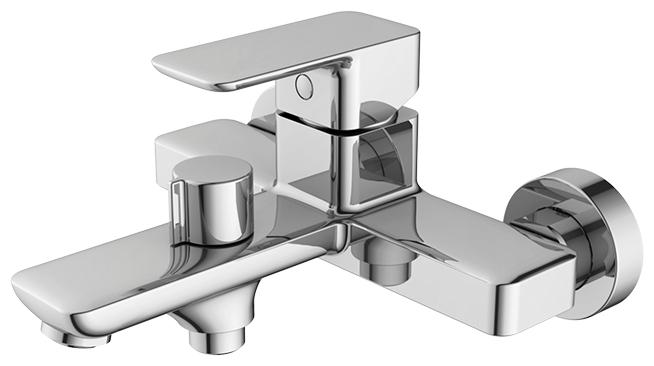 Фото - Смеситель для ванны Iddis Brick BRISB02i02 Хром смеситель для ванны iddis runo runsbl2i10wa универсальный хром