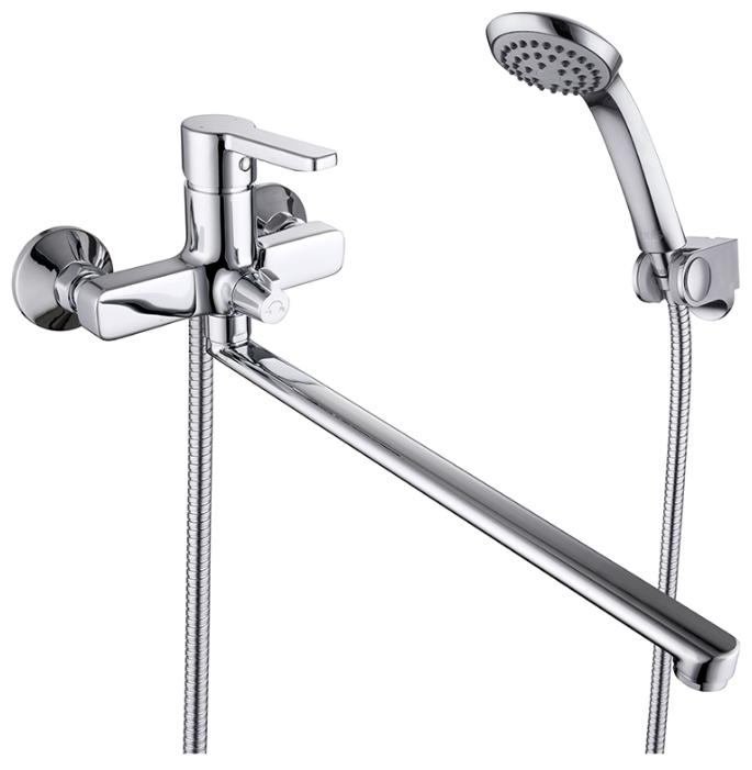 Sena SENSBL2i10 ХромСмесители<br>Смеситель Iddis Sena SENSBL2i10 для ванны. В комплеке: душевой шланг 1,5м.(Twist Free, Double Lock), настенный держатель для лейки, душева лейка 1 режим<br>