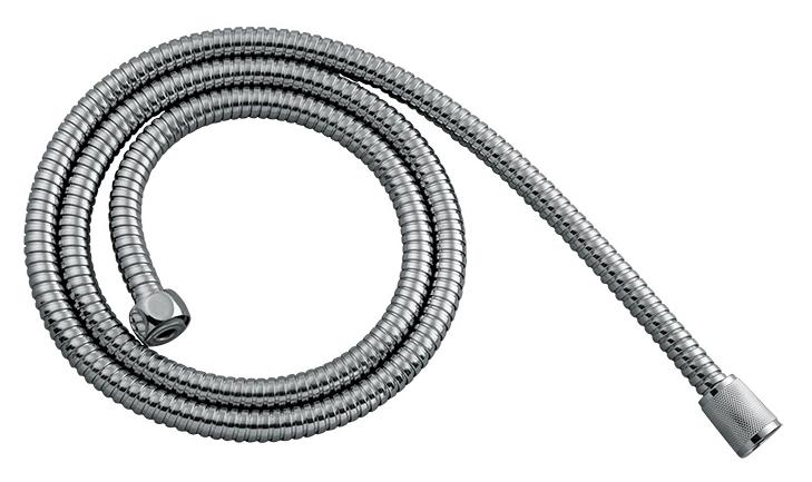 200 220S200M19 хромДушевые гарнитуры<br>Эластичный душевой шланг Milardo 200 220S200M19 из нержавеющей стали марки 304, с фильтрующей сеткой, с подключением G1/2, длиной 2000 мм. Прочность и эластичность шланга обеспечивает система двойной фиксации оплетки Double Lock.<br>