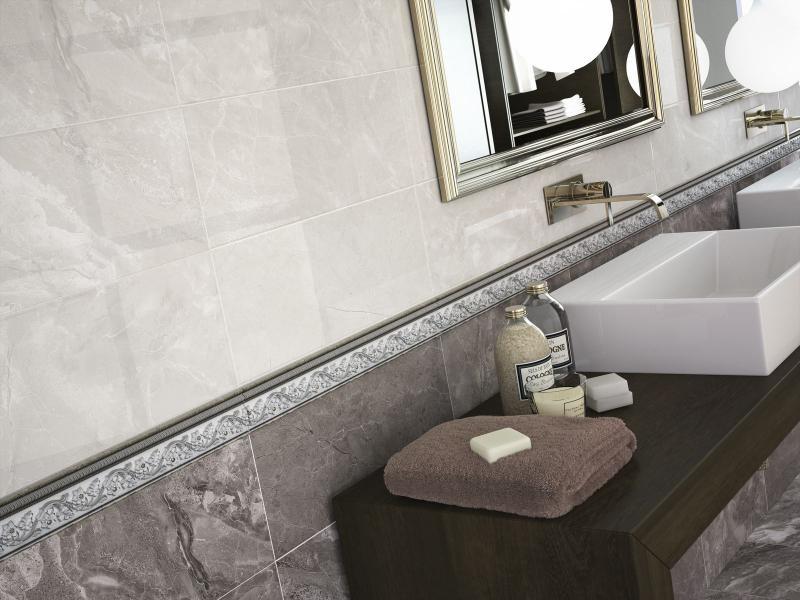 купить Керамическая плитка Ape Select Constelation Grey 20х50 декор онлайн