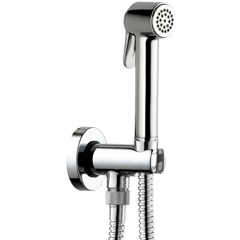 Гигиенический душ Bossini Paloma С69038B.030 Хром гигиенический комплект bossini cube brass e38001b 030