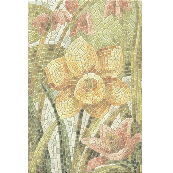 Керамический декор Kerama Marazzi Летний сад Лилии лаппатированный HGD/A144/880L 20х30 см