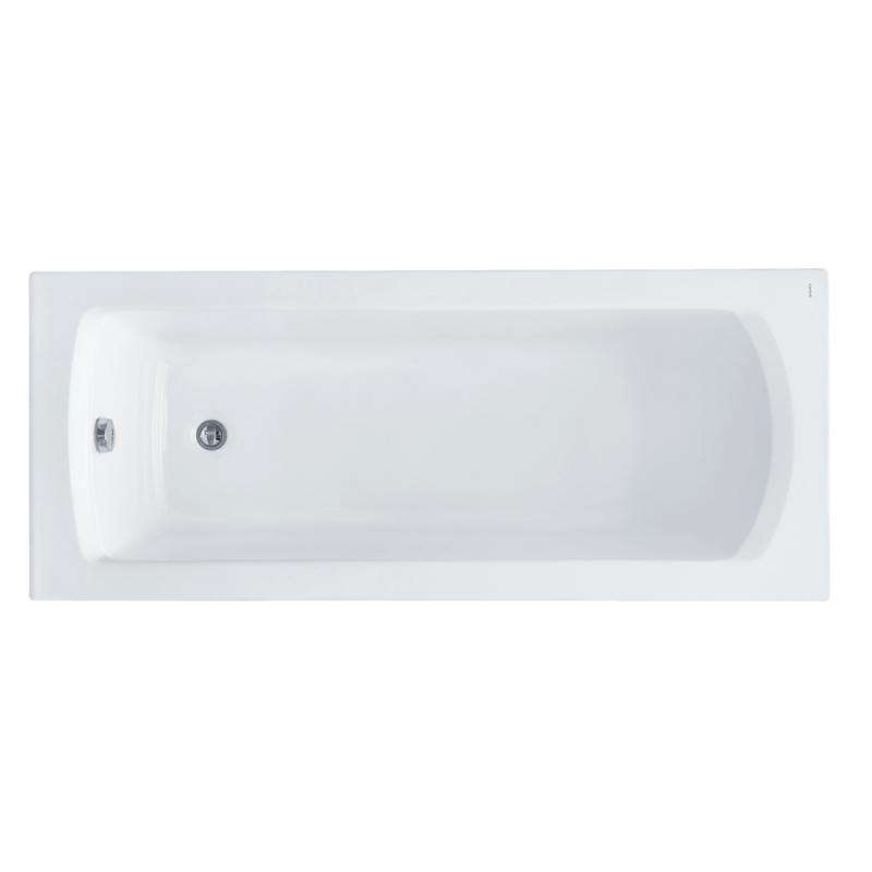 Акриловая ванна Santek Монако 150x70 1WH111976 без гидромассажа акриловая ванна santek монако 150х70 каркас слив перелив 1wh111976 1wh112424