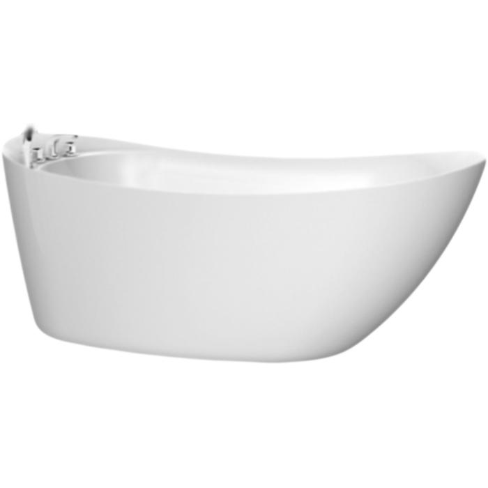 Акриловая ванна BelBagno BB25 170x76 без гидромассажа акриловая ванна belbagno 170x76 bb25