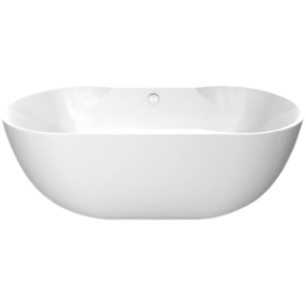 BB28 180x85 без гидромассажаВанны<br>Акриловая ванна BelBagno 180x85 BB28 отдельностоящая, с удобными наклонами для спины с двух сторон. Элегантная и изящная ванна создает атмосферу красоты и роскоши в ванной комнате.<br>Цвет чаши ванны: белый.<br>Материал: высококачественный листовой акрил.<br>Прочность в сочетании с малым весом.<br>Эффективное звукопоглощение.<br>Акрил быстро нагревается и долго сохраняет тепло.<br>Гладкая, не скользкая и теплая на ощупь поверхность. <br>Неприхотливость в уходе.<br>Расположение слива: в ногах.<br>Диаметр сливного отверстия: 5,5 см.<br>В комплекте поставки:<br>чаша ванны.<br>
