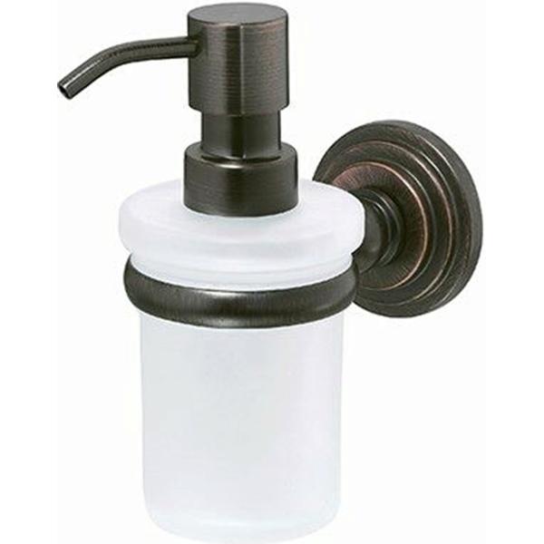 Дозатор для жидкого мыла WasserKRAFT Isar K-7399 Темная бронза дозатор для жидкого мыла wasserkraft isar k 7399 темная бронза
