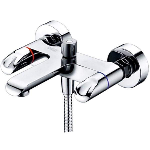 Смеситель для ванны WasserKRAFT Lossa 1201 Хром смеситель для ванны и душа wasserkraft lossa 1201 9061227