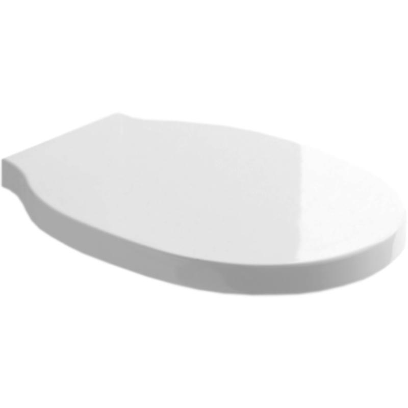 Bingo BB548SC для унитаза БелоеКомплектующие<br>Жесткая крышка-сиденье Soft Close BelBagno Bingo BB548SC для унитаза.<br>Материал: дюропласт.<br>Амортизированное закрытие (микролифт).<br>Система быстрого демонтажа.<br>Хромированные металлические петли.<br><br>В комплекте поставки:<br>крышка-сиденье.<br><br>