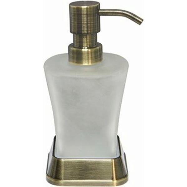 Дозатор для жидкого мыла WasserKRAFT Exter K-5599 Светлая бронза дозатор для жидкого мыла wasserkraft isar k 7399 темная бронза