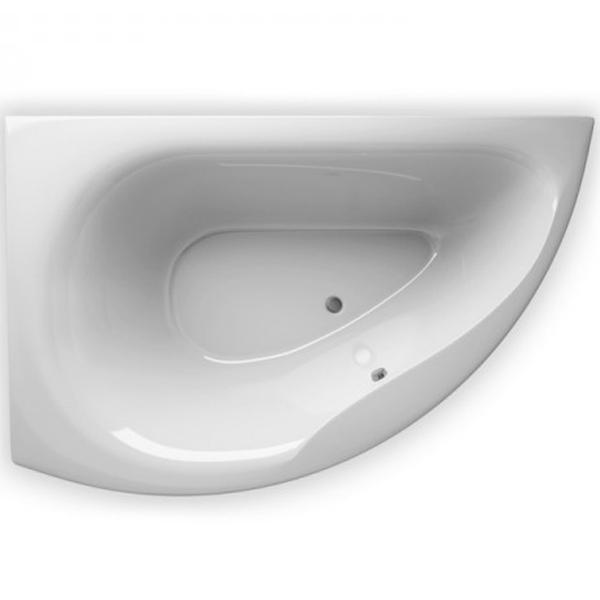 Акриловая ванна Alpen Dallas 160x105 белая R мебель для ванной эстет dallas luxe r 120 напольный два ящика белый