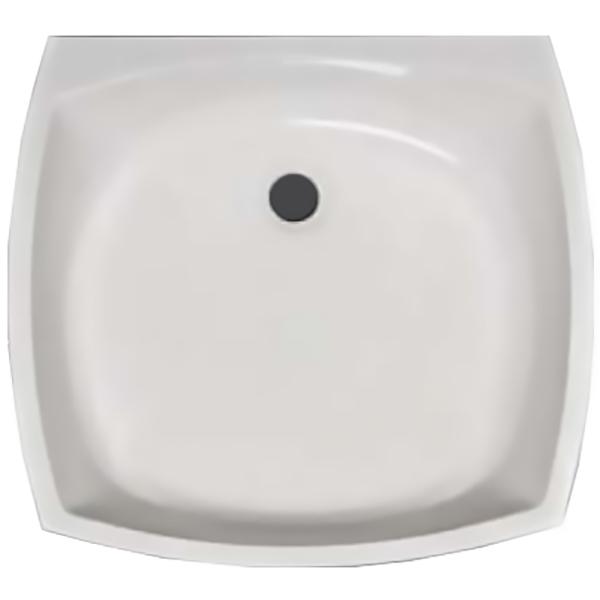 Vip БелаяРаковины<br>Раковина Kolpa San Vip.<br>Размер: 45.5x50x17 см.<br>Материал: литьевой мрамор.<br>Цвет: белый.<br>