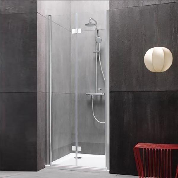 Terra flat TV/S 100 Хром LДушевые ограждения<br>Душевая дверь в нишу Kolpa San Terra flat TV/S 100 L с одной складной дверью.<br>Петли слева.<br><br>Профиль:<br>Материал: алюминий.<br>Цвет профиля: хром.<br>Покрытие Silver Brill: высококачественная гальваническая полировка.<br>Высокая герметичность.<br>Магнитный профиль.<br><br>Стекло:<br>Прозрачное закаленное стекло.<br>Толщина: 6 мм.<br>Встроенные в стекло хромированные петли.<br><br>Непревзойденное качество, подтвержденное европейским сертификатом.<br>