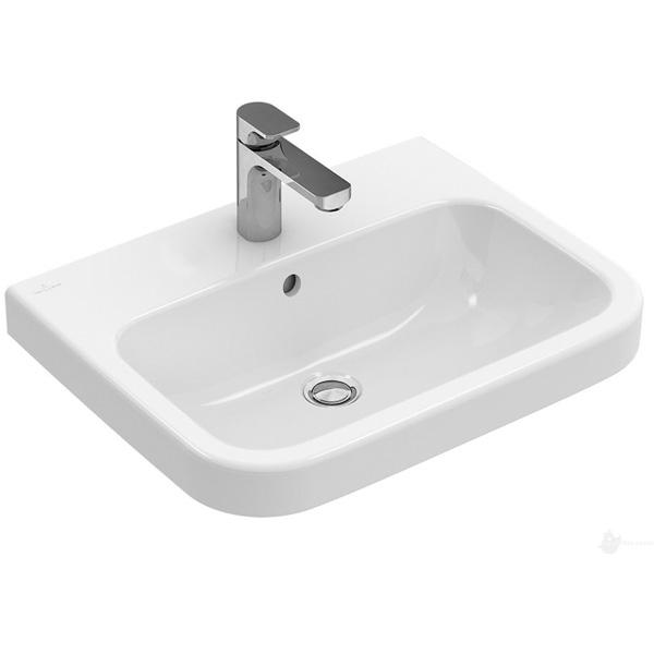 цена Раковина Villeroy&Boch Architectura 65 418866 Белый альпин онлайн в 2017 году
