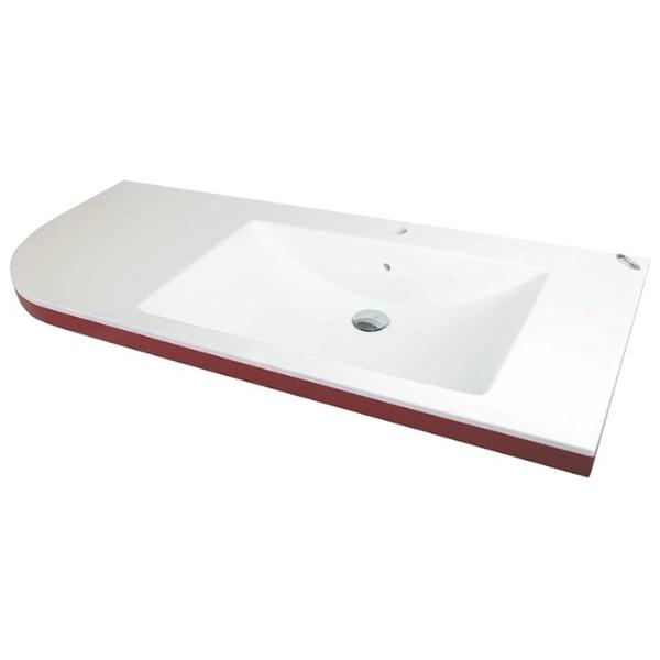 Lux Concept 120x50 Белая LРаковины<br>Столешница с раковиной Kolpa San Lux Concept L.<br>Раковина слева.<br>Размер: 120x50x5 см.<br>Материал: Kerrock. Это искусственный камень, в состав которого входят гидрооксид и полимерный соединитель базы акрила. Материал гипоаллергенен, отличается прочностью и имеет гладкую поверхность без пор, что препятствует размножению бактерий и облегчает уход за раковиной. Он огнеупорный и долговечный, устойчив к химикатам и механическим повреждениям.<br>Цвет: белый.<br>