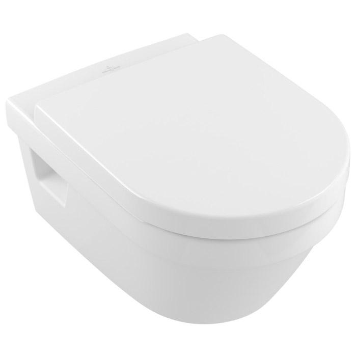 Унитаз Villeroy&Boch Architectura 5684R0 подвесной CeramicPlus без сиденья фото