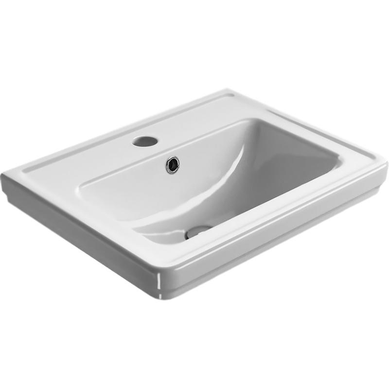 Купить Раковина, Classic 873111 Белый, GSI, Италия