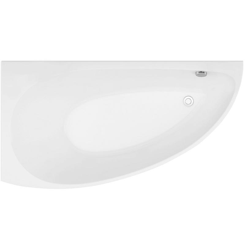 Акриловая ванна Aquanet Augusta 170x90 без гидромассажа L цена 2017