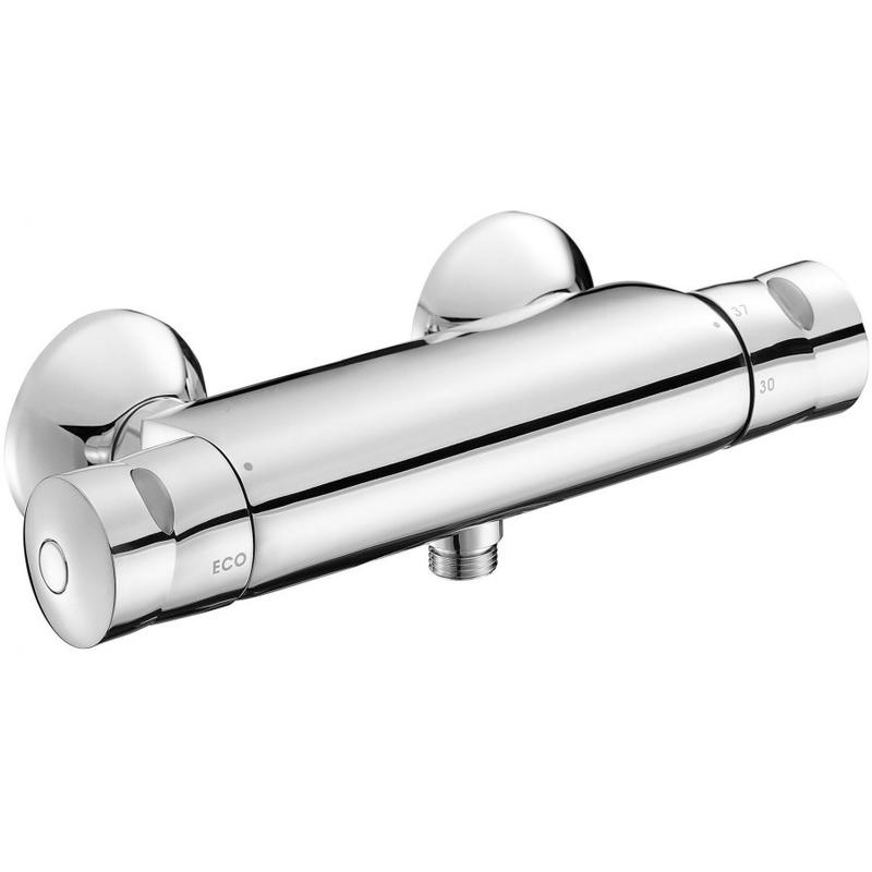 Купить Смеситель для душа, Stomb E71070-CP с термостатом Хром, Jacob Delafon, Франция
