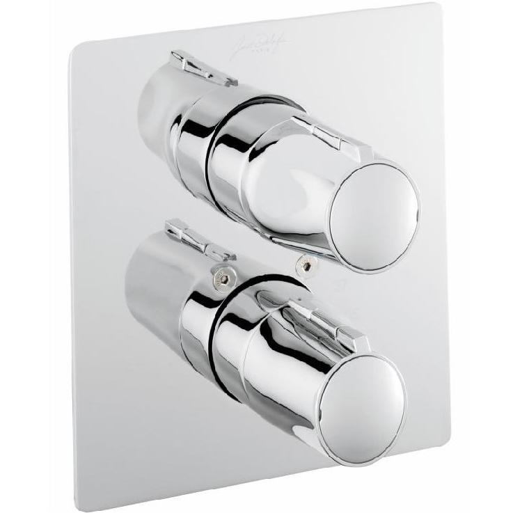 Купить Смеситель для душа, Symbol E71689-CP с термостатом Хром, Jacob Delafon, Франция