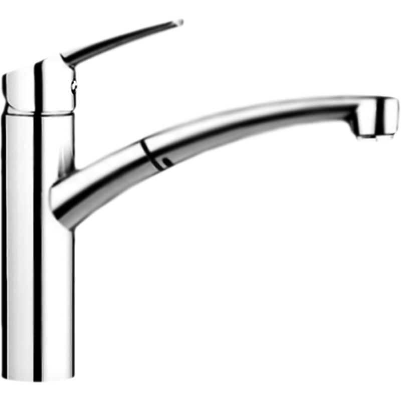 Nea S МускатСмесители<br>Смеситель для кухни Blanco Nea S Silgranit 521735 однорычажный, с выдвижным и поворотным изливом, с аэратором, монтируемый в одно отверстие. Контрастный дизайн и компактные размеры. Изогнутый излив для легкого мытья и наполнения кастрюль. Выдвижной излив служит для увеличения рабочего радиуса. Соответствует европейским стандартам.<br>Конструкция:                 <br><br>Цвет: мускат Silgranit.<br>Материал корпуса: латунь.<br>Поворотный и выдвижной излив: 145 градусов, L 21,1 см.<br>Скрытый шланг с металлической оплеткой.<br>Высота смесителя: 21,8 см.<br>Аэратор: запатентованный рассекатель, защита от отложения налета.<br>Механизм: дисковый керамический картридж.<br>Защита от обратного потока: возвратные клапаны.<br>Монтаж: на одно отверстие, D 3,5 см.<br>Стабилизирующая пластина: увеличение устойчивости.<br>Подводка: гибкая, с гайкой, G 3/8, L 45 см.<br>Легкость и надежность установки.<br>Одобрено: LGA. Сертификат: DVGW. Соответствие: EN 1717.<br><br>В комплекте поставки:<br><br>смеситель;<br>выдвижной шланг, гибкая подводка;<br>комплект креплений.<br><br>