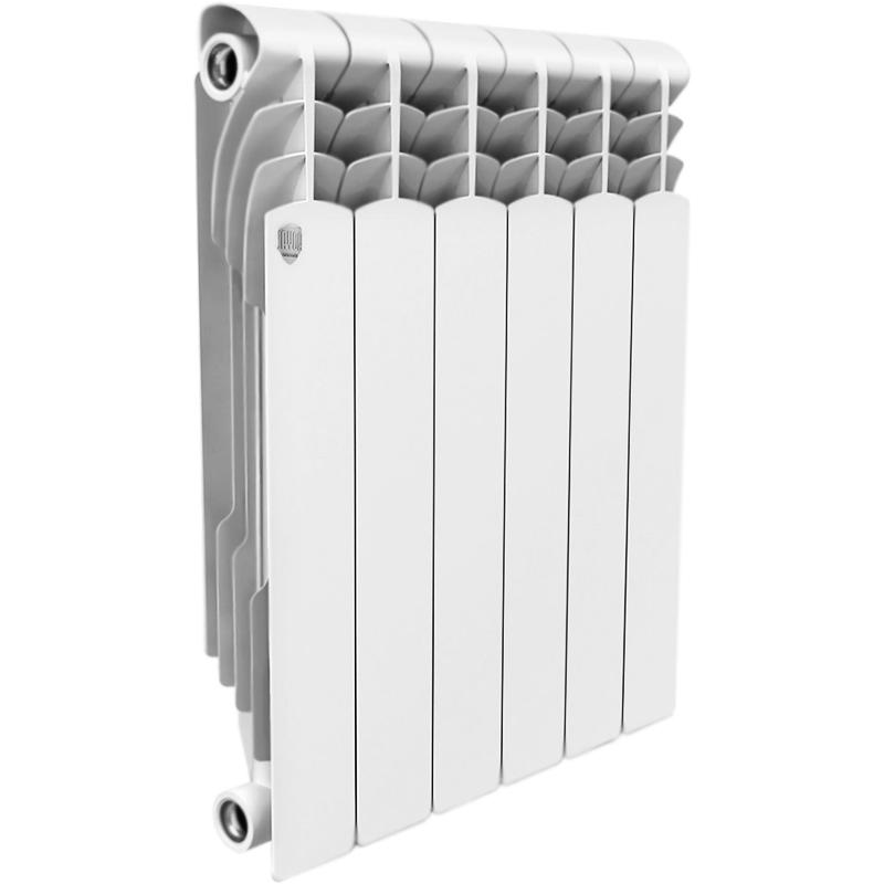 Биметаллический радиатор Royal Thermo Revolution Bimetall 350 6 секций с боковым подключением радиатор отопления royal thermo revolution bimetall 350 6 секций