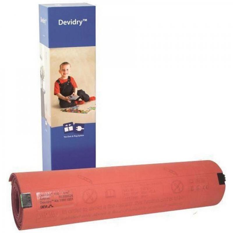 Нагревательный мат Devi Devidry 100 89300020 1 х 1 м фото
